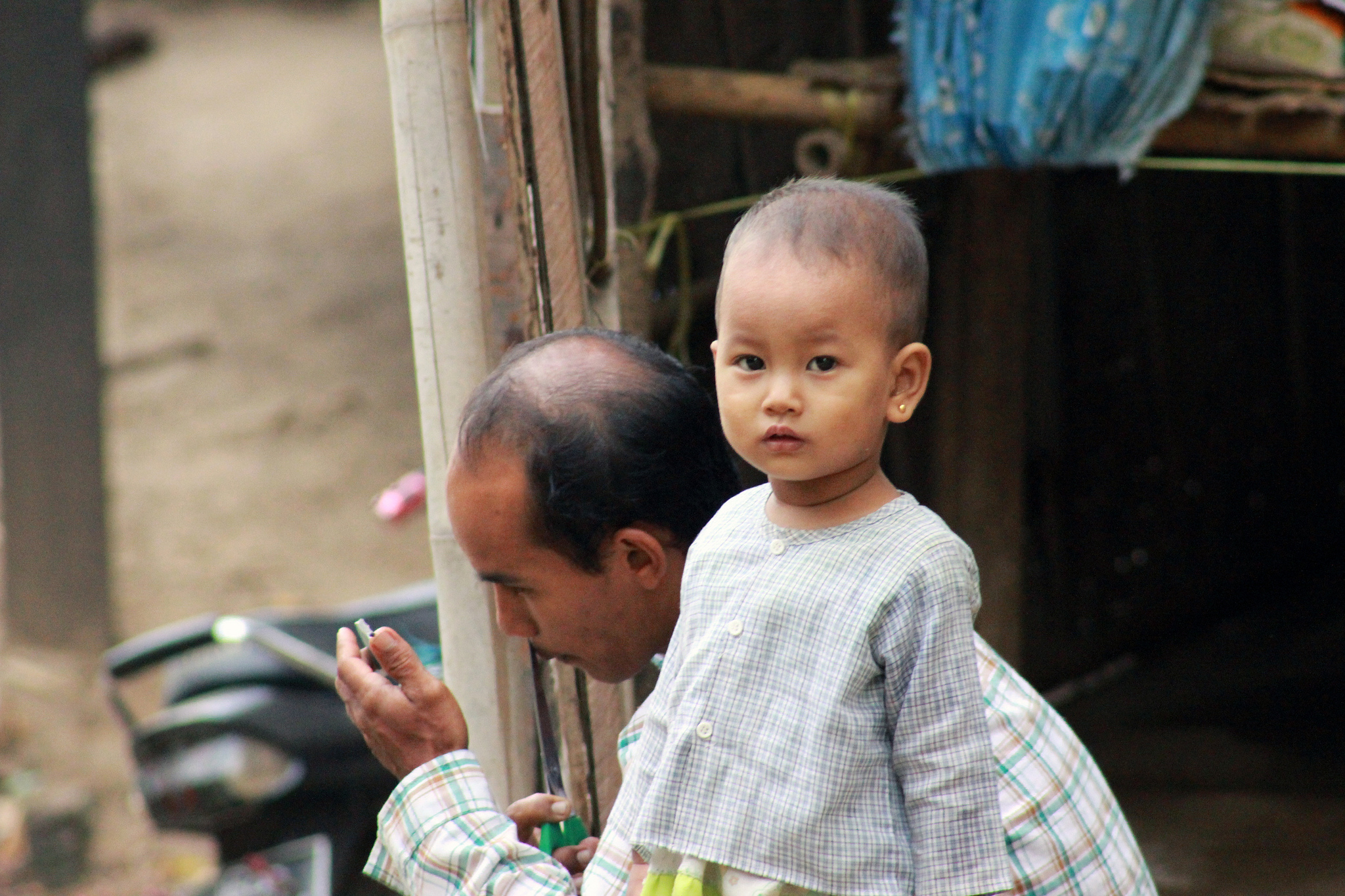 Myanmar father